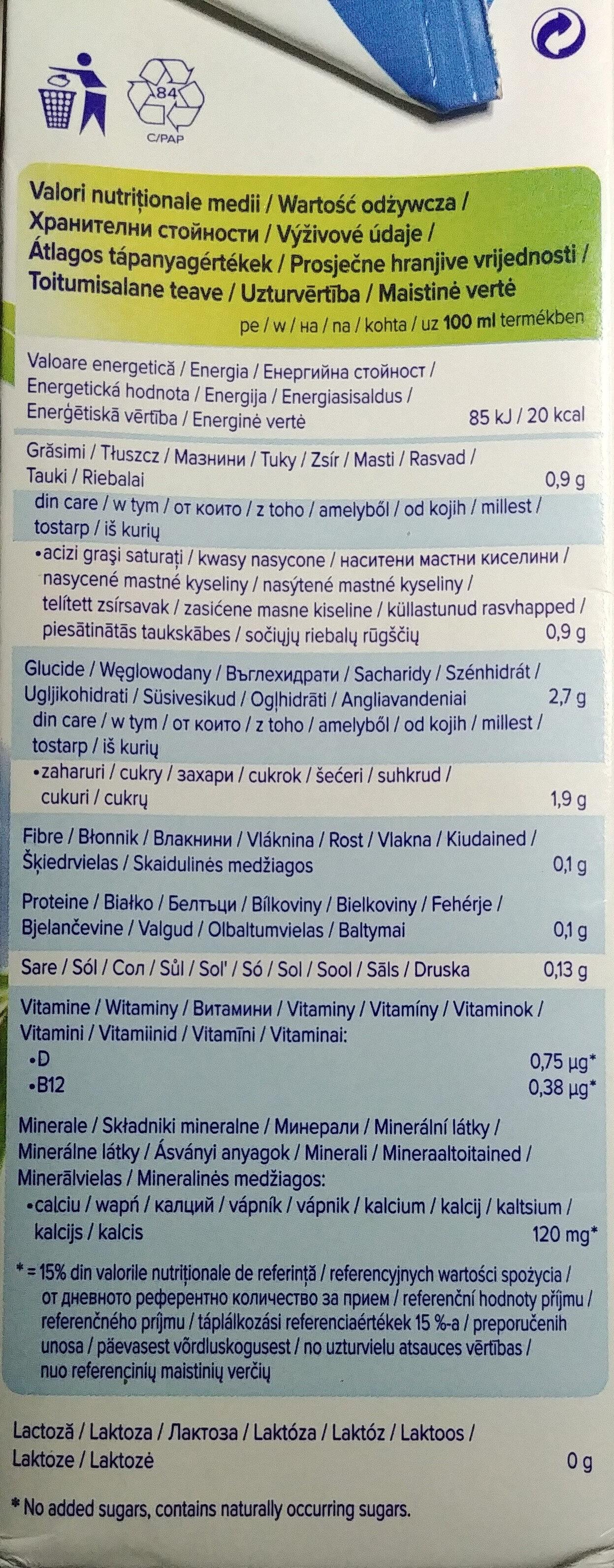 Kokosnuss - Wartości odżywcze - pl
