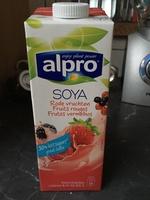 Soja aux fruits rouges - Product - fr