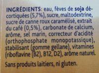 Alpro Sojadrink Macchiato - Ingrediënten - fr