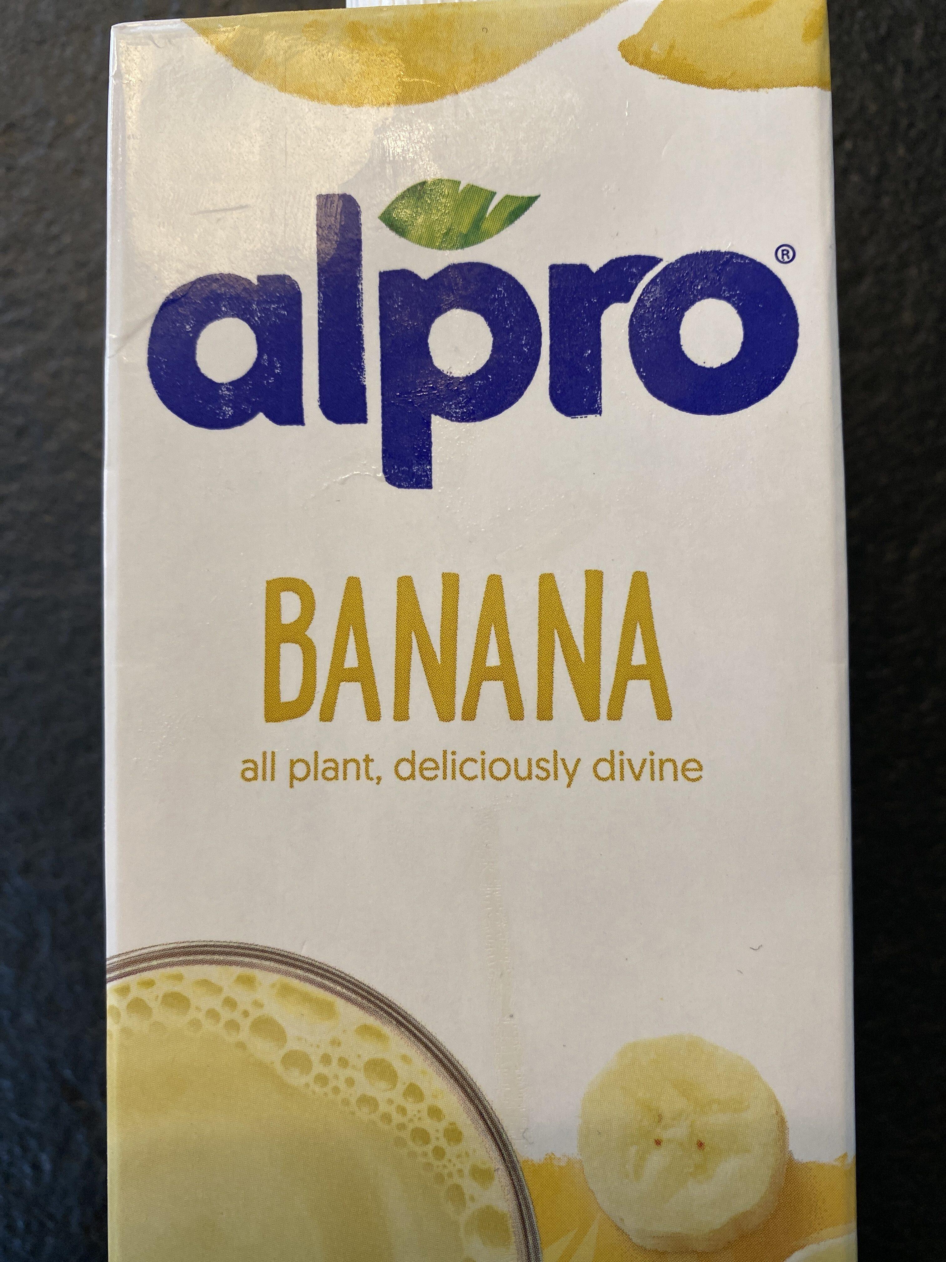 Soya Drink Banana - Product - en