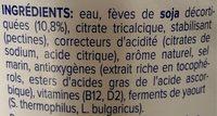Alpro - Ingrediënten - fr
