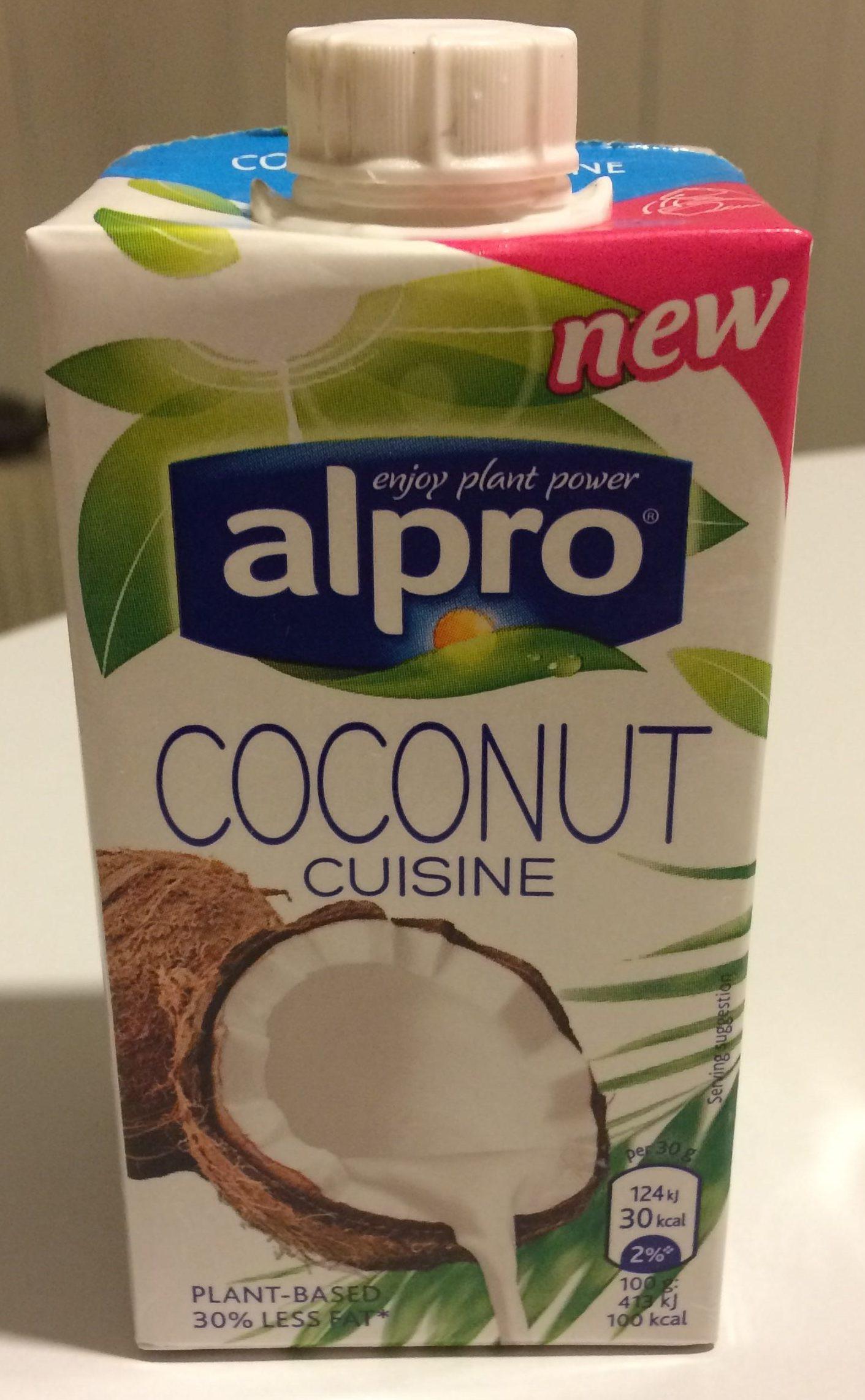Coconut cuisine alpro 25o ml for Alpro coconut cuisine