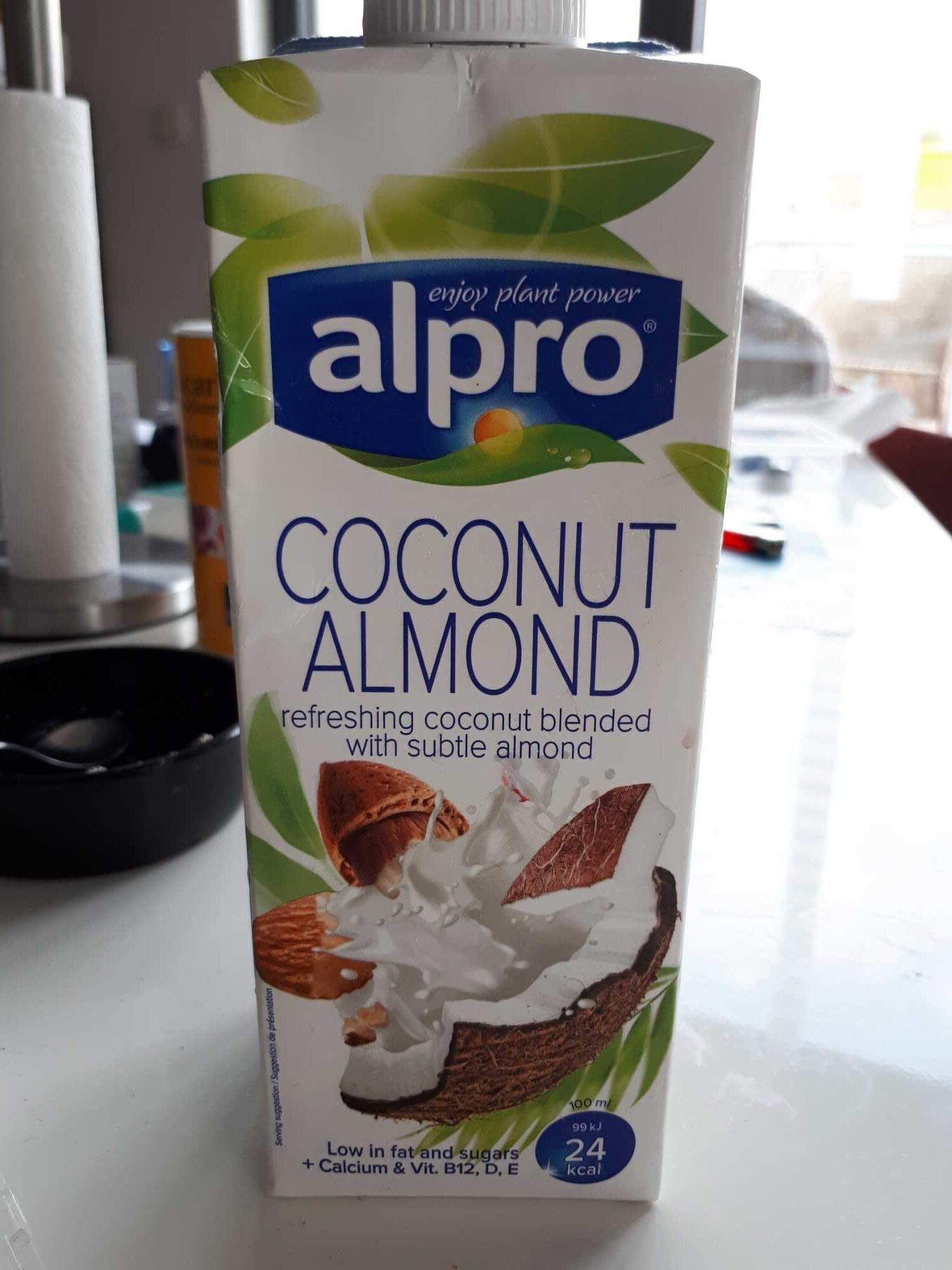 Lait coco amande - Product - fr