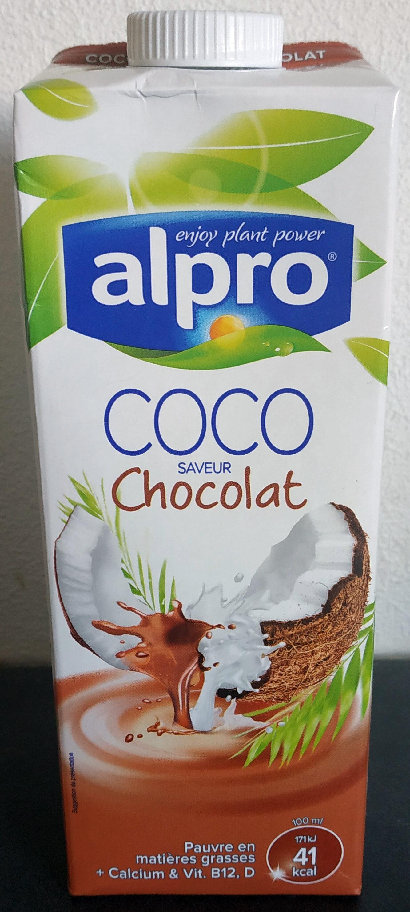 Boisson Coco saveur Chocolat - Produit - fr