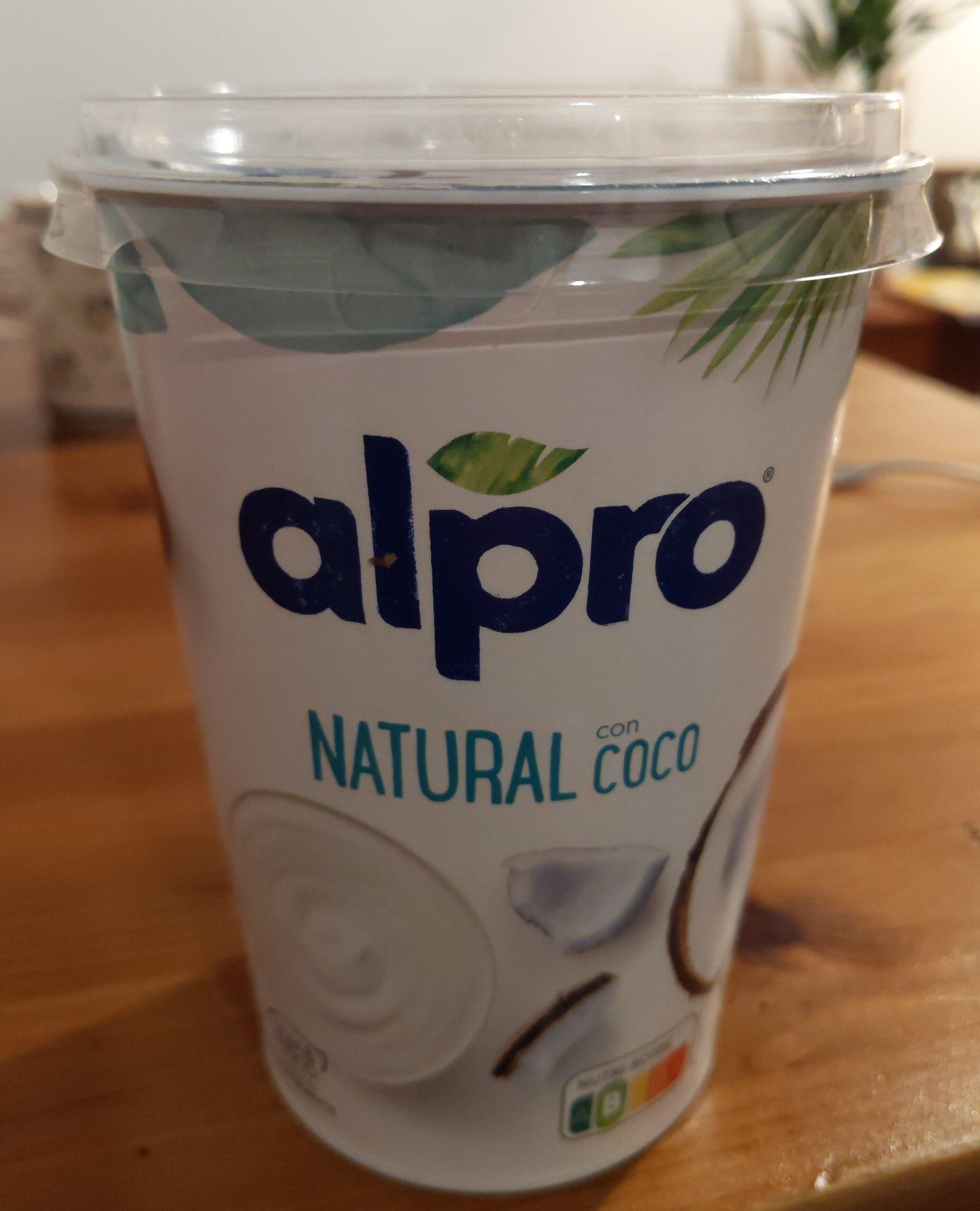 Alpro coco - Producto - es