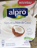 Nature à la noix de coco - Producte