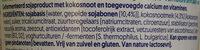 Plain with Coconut - Ingrediënten - nl