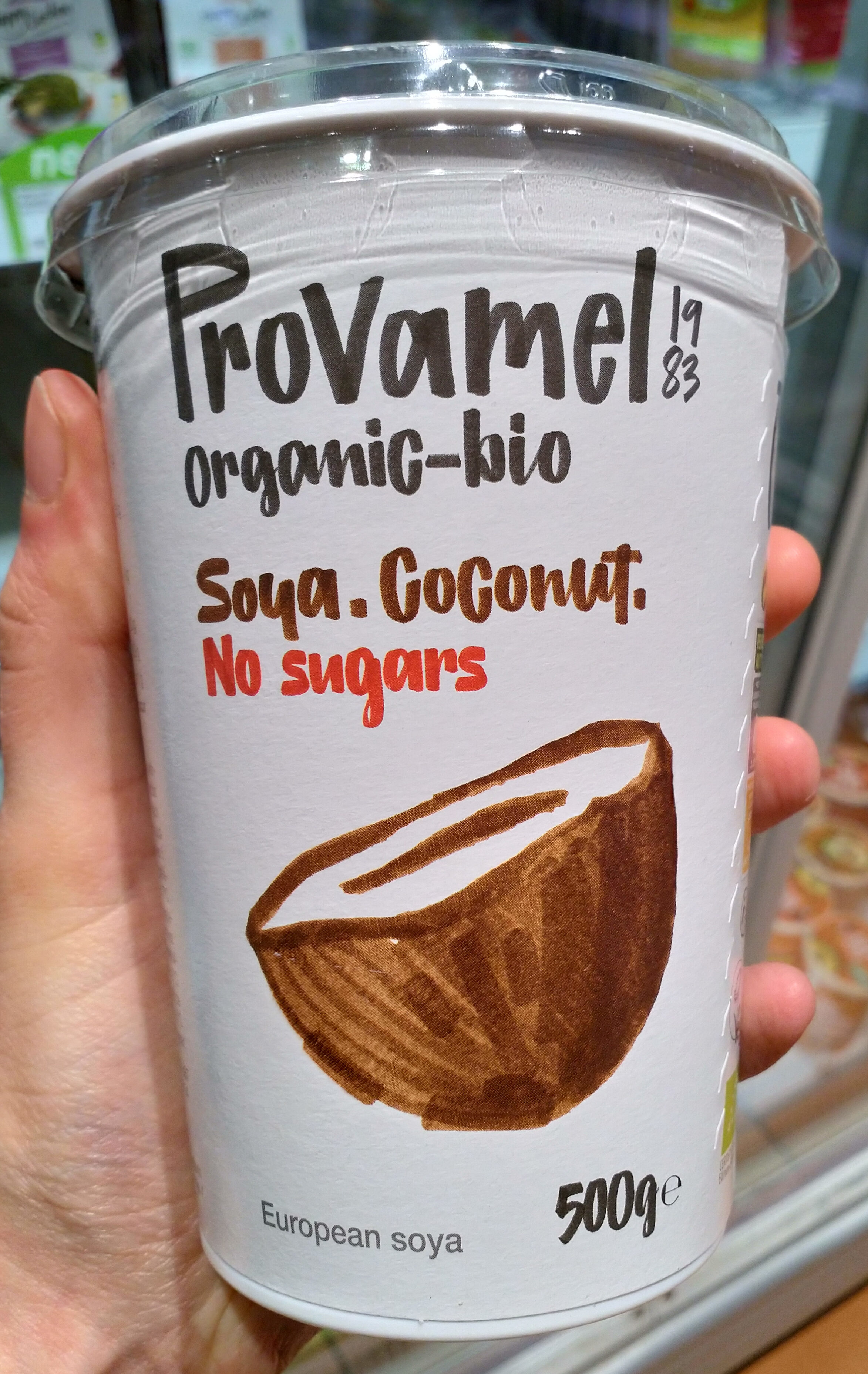 Soya. Coconut. No sugars - Produit - fr