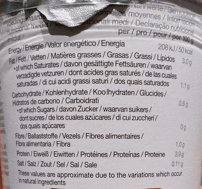 Soya. Coconut. No sugars - Informations nutritionnelles - de