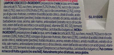 2x Framboise-Airelle, 2x Mûre - Ingredienti - it