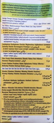 Goût vanille amande - Informazioni nutrizionali - fr