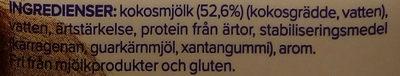 Cuisine coconut - Ingrediënten - sv