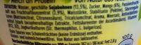 Alpro Go On Mango - Ingredients