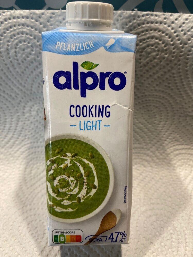 Alpro Cooking light - Product - de