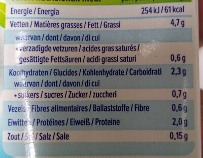 Alpro Cuisine Soya light - Informations nutritionnelles - fr