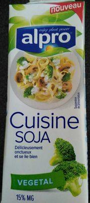 Alpro Cuisine Soya - Produit