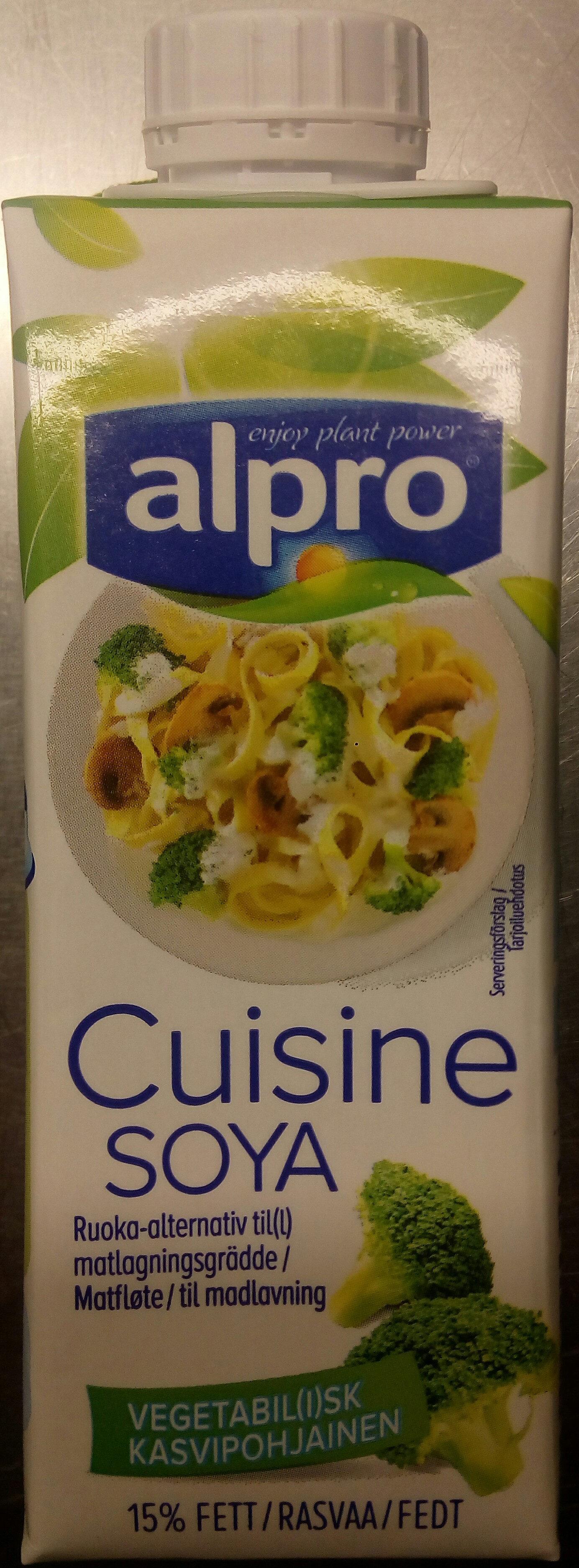 Alpro Cuisine Soya - Product - sv