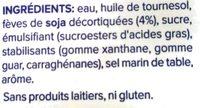Alpro Cuisine Soya - Ingrédients