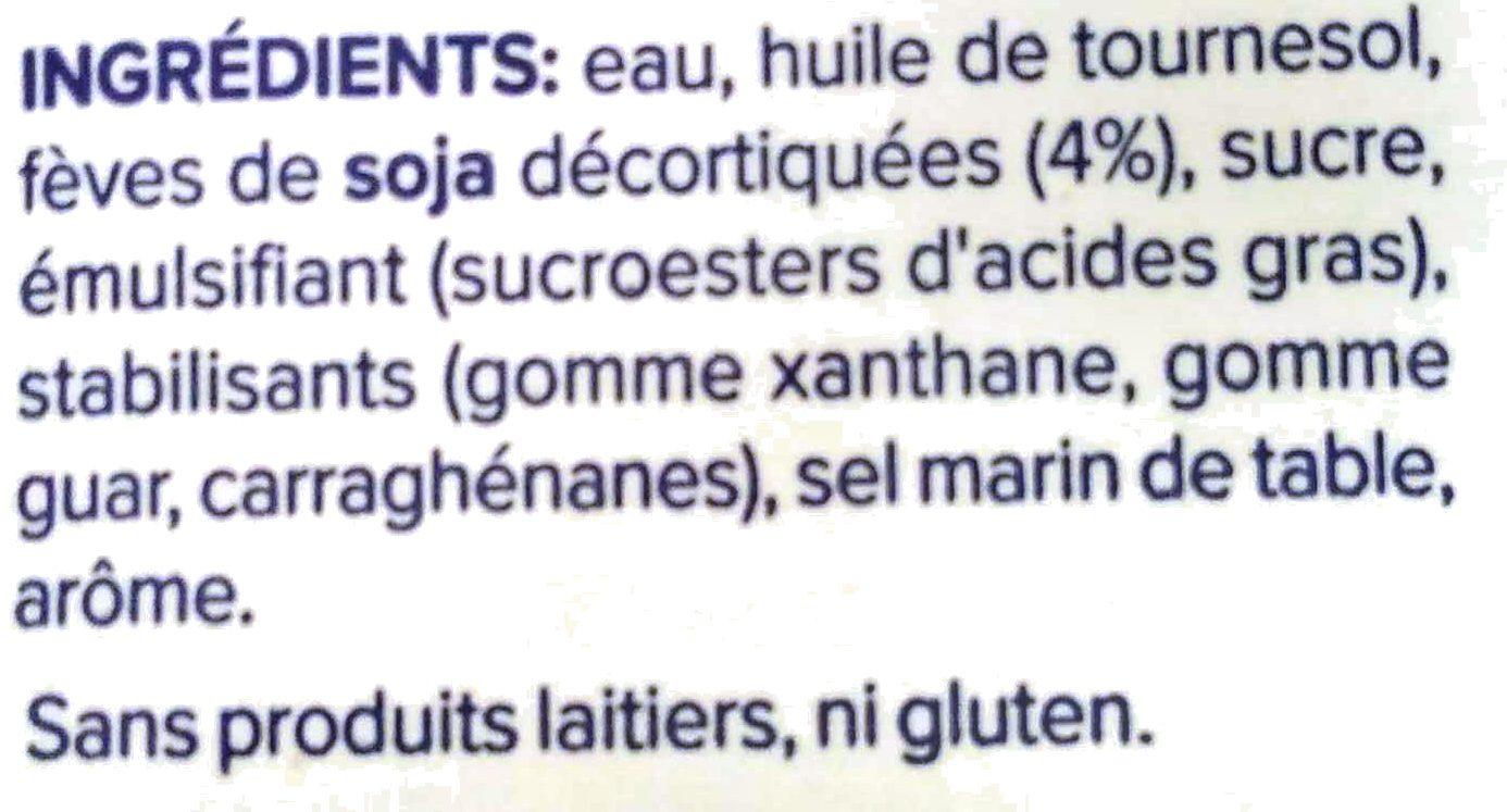Alpro Cuisine Soya - Ingrédients - fr