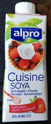 Alpro cuisine soja - Product - fr