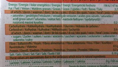 Boisson Aux Noisettes Bio - Nutrition facts