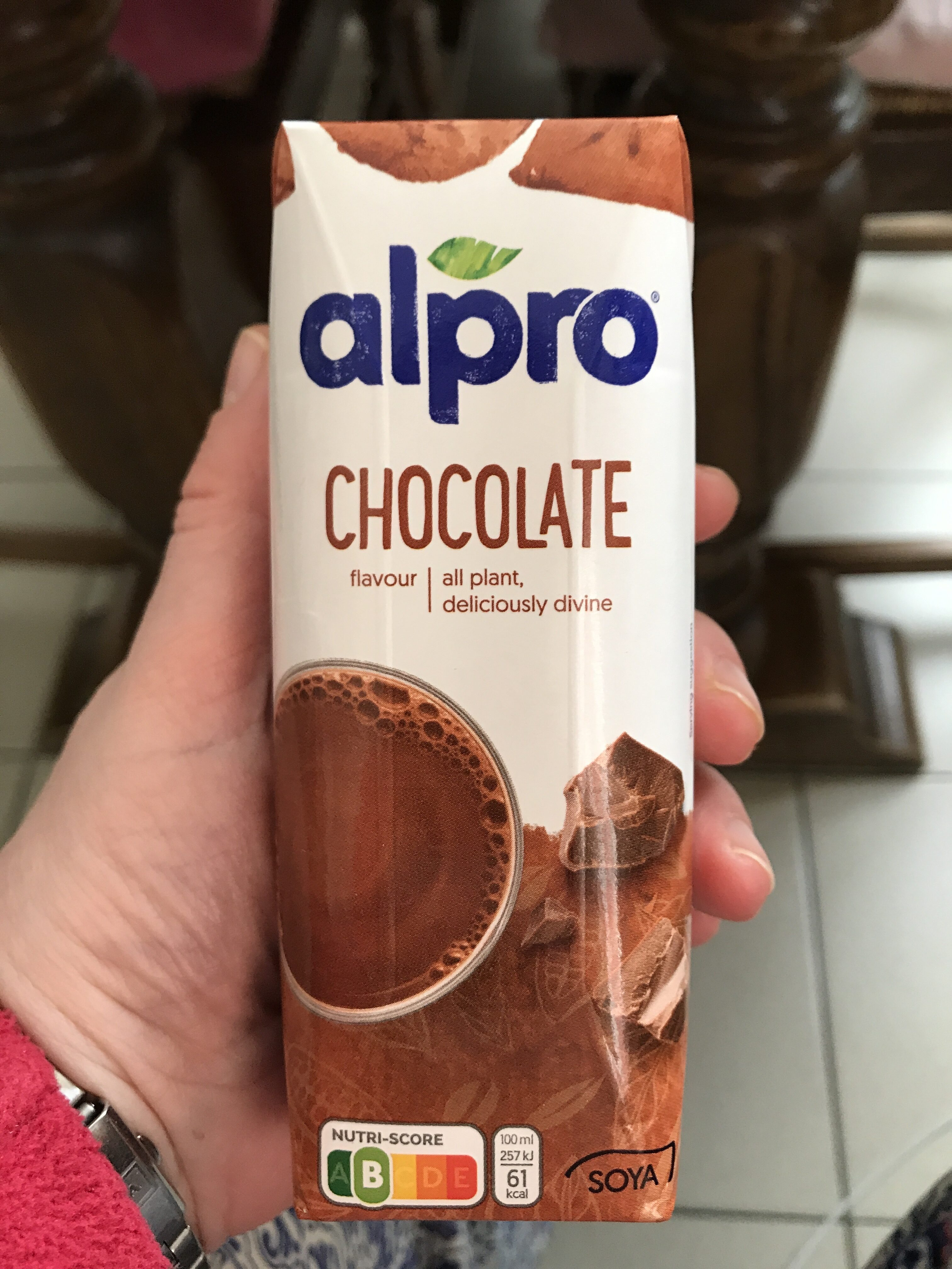 Chocolate Flavour Plant-based drink - Product - en