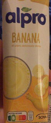 Alpro Soya Banana - Produit - fr