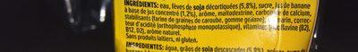 Soya Banane - Ingrediënten - fr