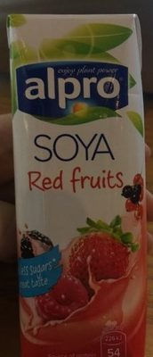 Soya red fruits - Product - fr