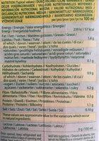 Quinoa-Riz - Nutrition facts