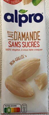 Lait d'amande sans sucre - Prodotto - fr