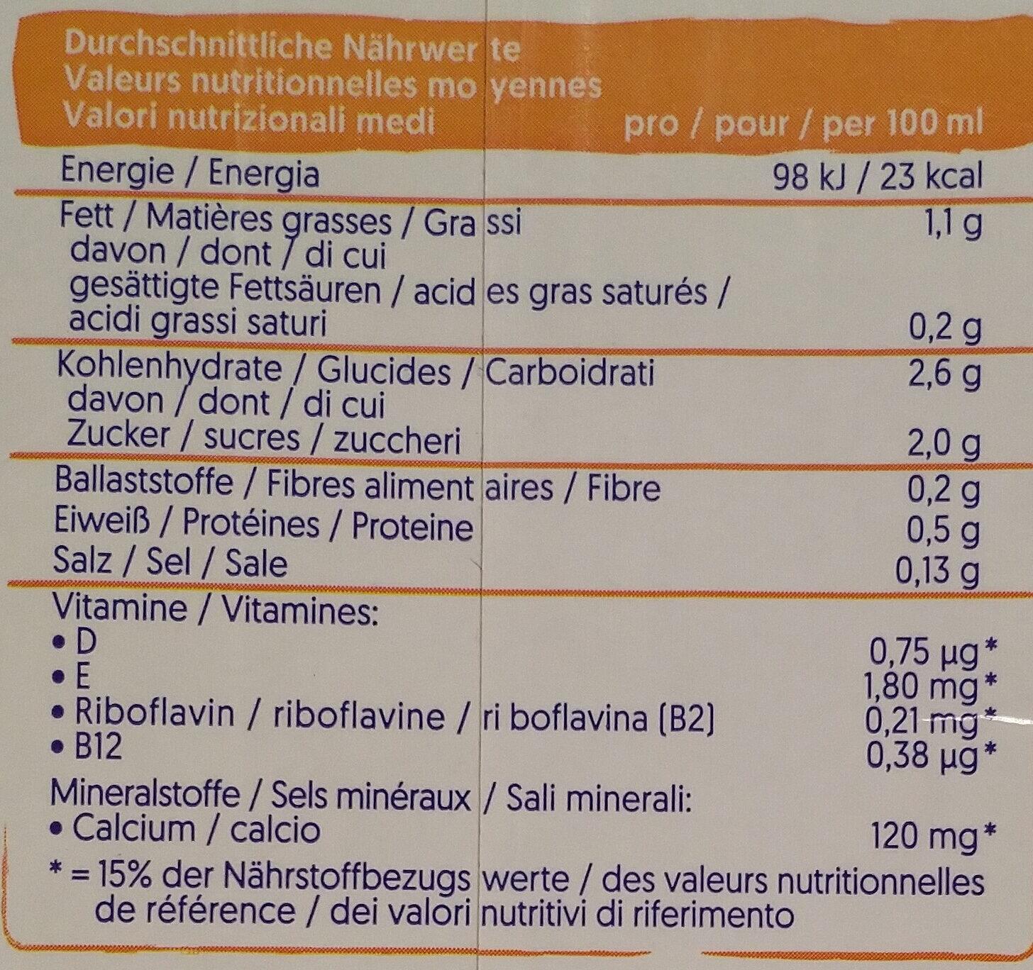 Cashew rein Pflanzlich - Voedingswaarden - de