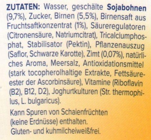 Poire - Ingredients - de