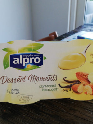 Alpro Dessert Moments Almond Vanilla - Product - fr
