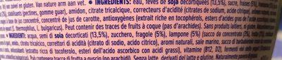 Go On Strawberry Raspberry - Ingrédients