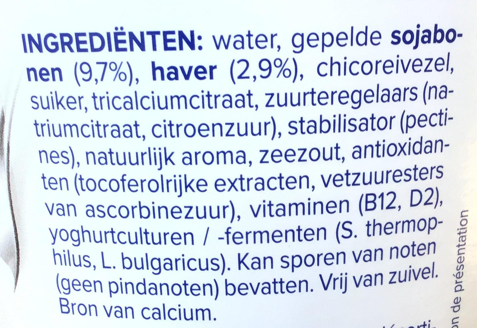 Natur mit Hafer - Ingrediënten - nl