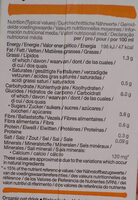 Boisson à l'avoine - Nutrition facts - de