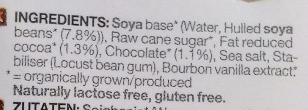 Drink Soja Choco - Ingredients - en