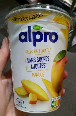 Dessert Soja mangue Sans sucres ajoutés - Product - fr