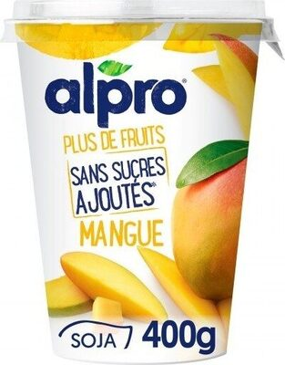 Yogurt mango alpro - Product - fr