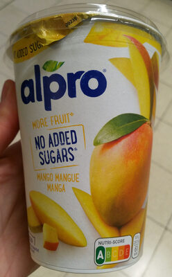 Yogurt mango alpro - Product - nl