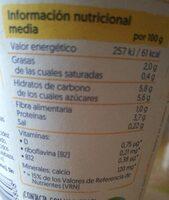 alpro mango - Informations nutritionnelles - fr