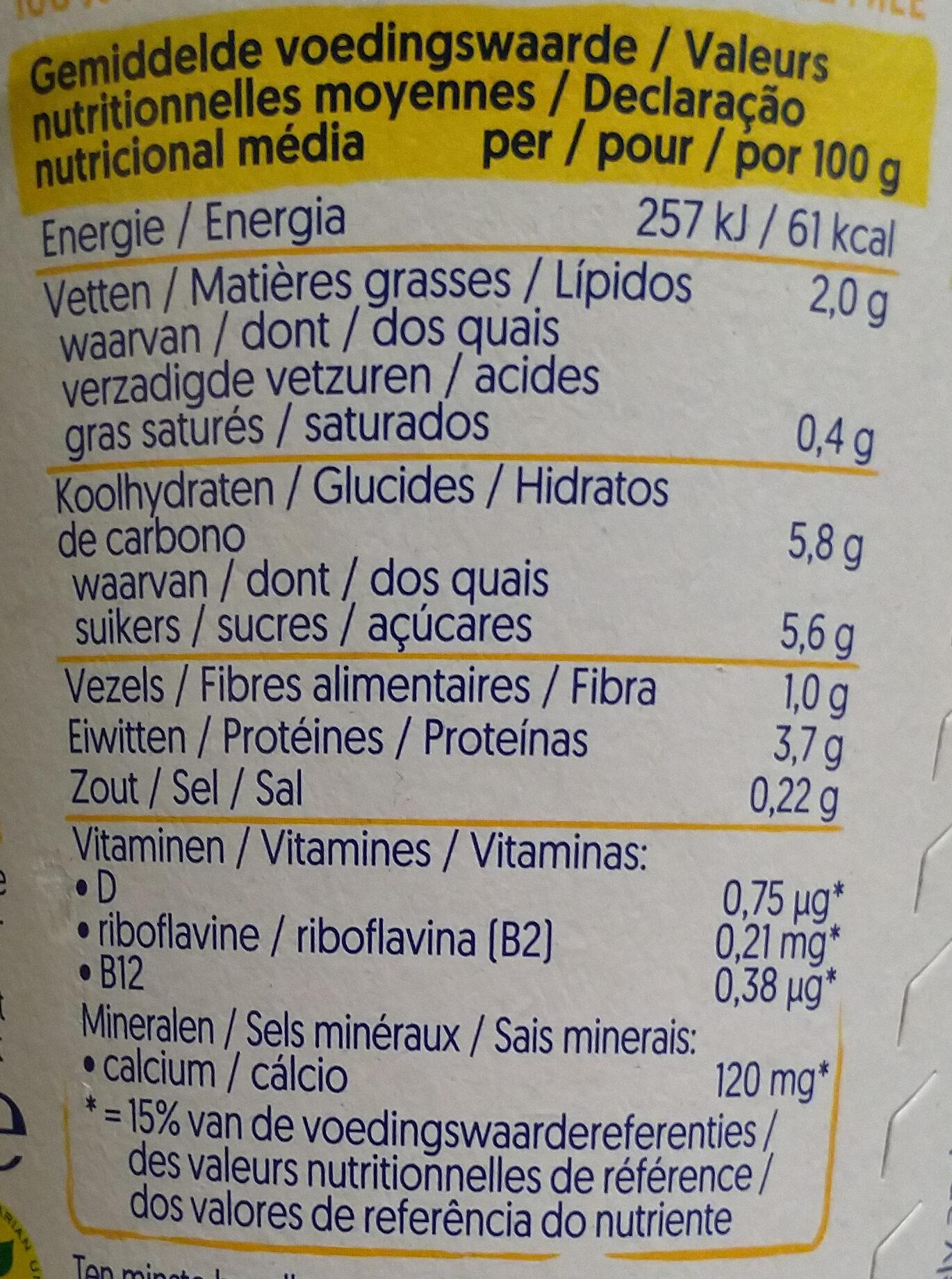 Alpro Mango (meer fruit) - Voedingswaarden - nl