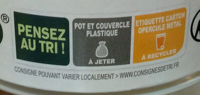 Yogurt mango alpro - Recycling instructions and/or packaging information - fr