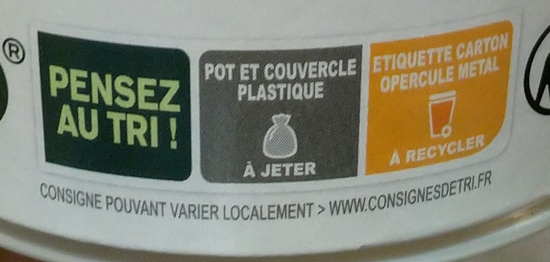 alpro mango - Instruction de recyclage et/ou informations d'emballage - fr