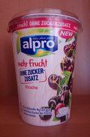 Yaourt soja cerise sans sucre ajouté - Producte