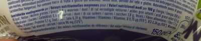Go On - Yaourt soja - Nutrition facts - en