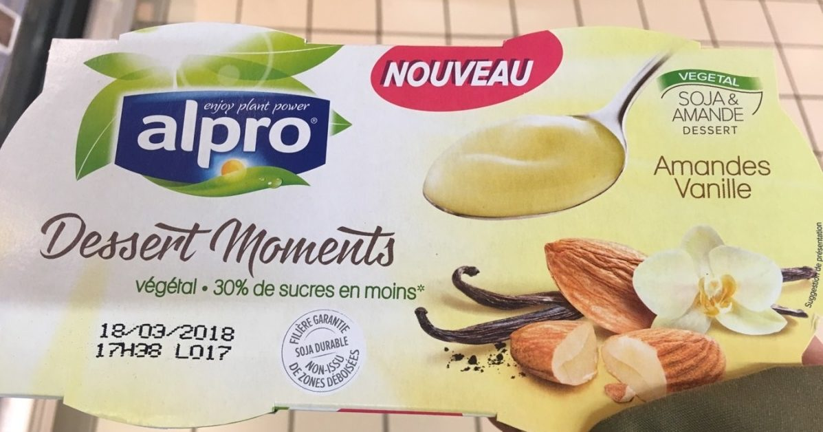 Dessert moments amandes vanille - Product
