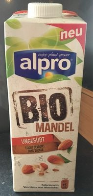 Organic Almond Unsweetened U.H.T. - Produit