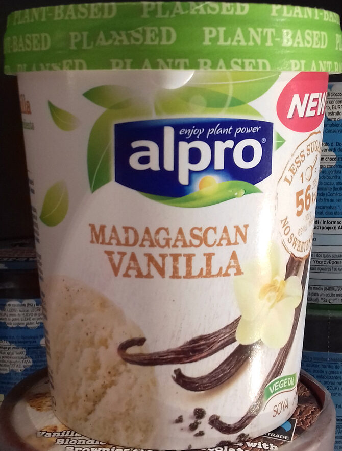 Alpro - Madagascan vanilla - Product - es